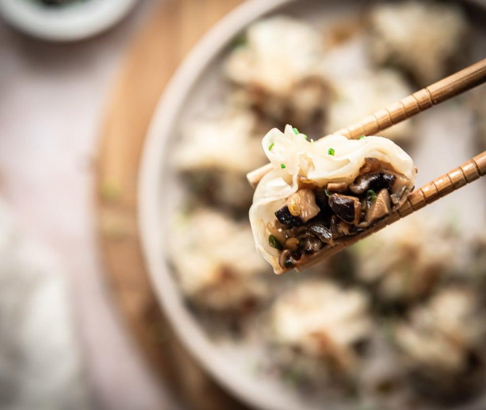 Vega dumplings