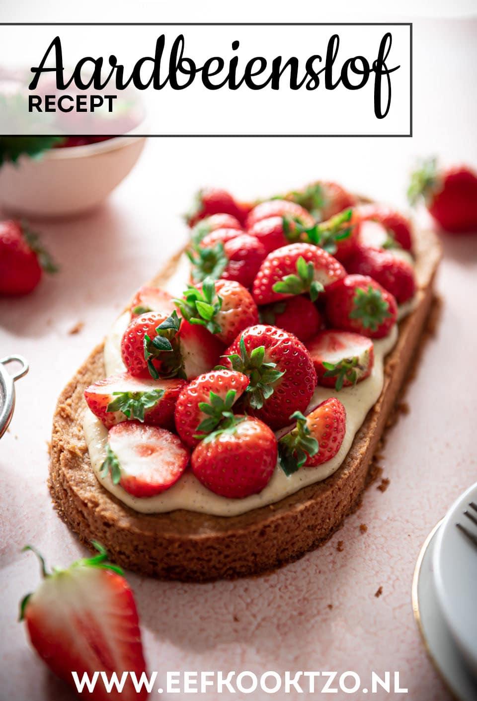 Aardbeienslof Pinterest Collage