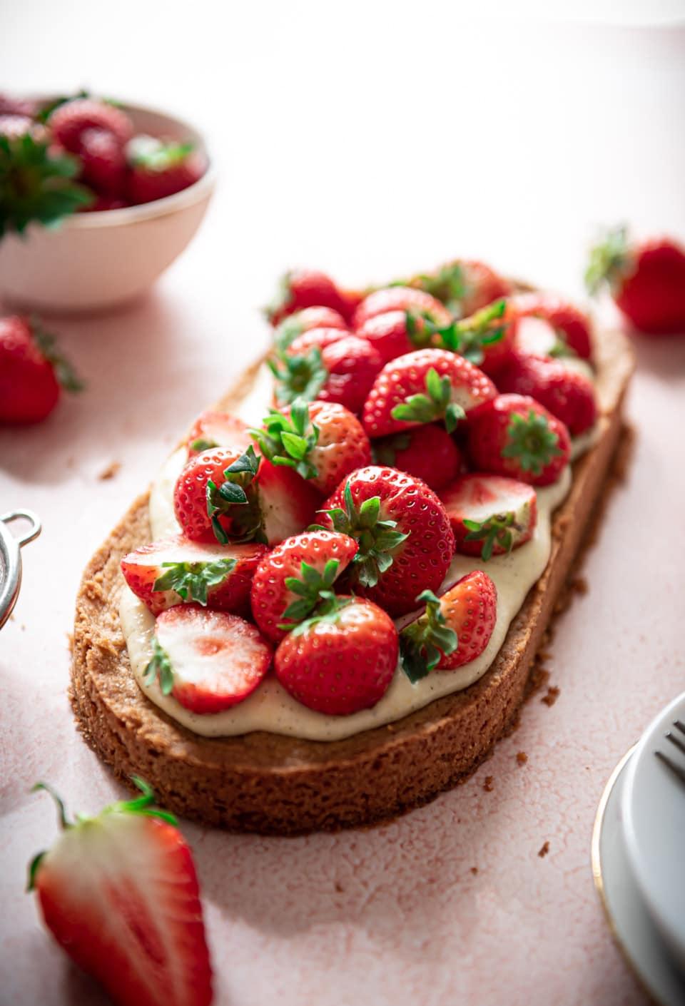 Aardbeienslof recept