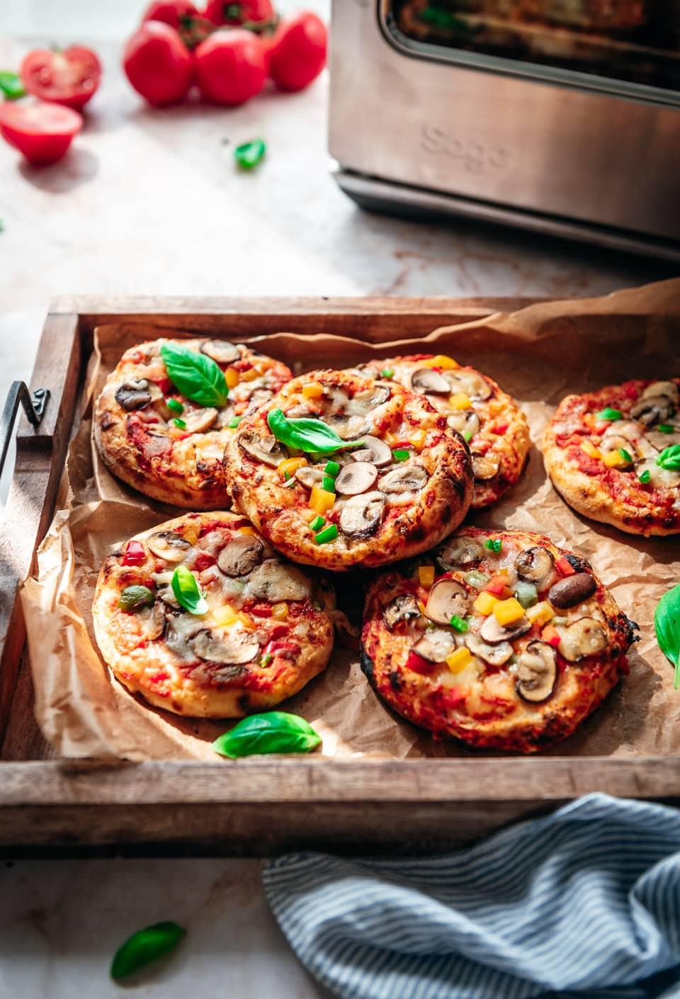 Pizzabroodjes zelf maken
