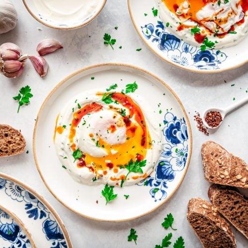 Cilbir - Turkse eieren (Çılbır)