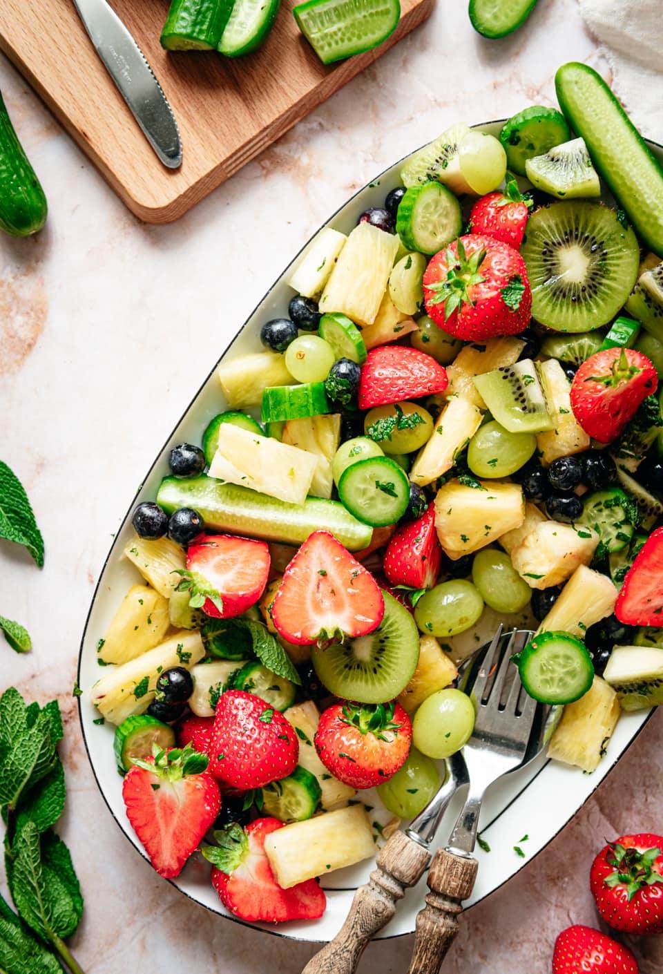 Fruitsalade recept