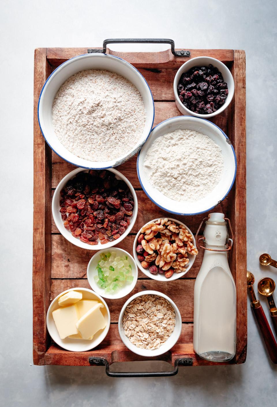 Mueslibrood ingredienten