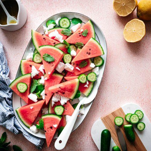 Watermeloensalade