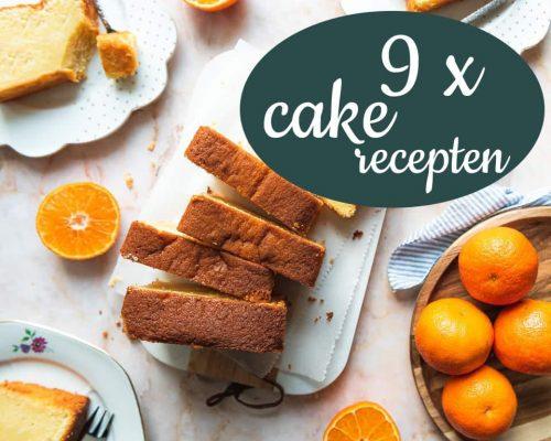 9 x cake recepten