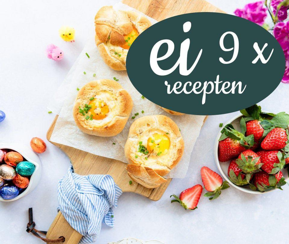 9 x ei recepten