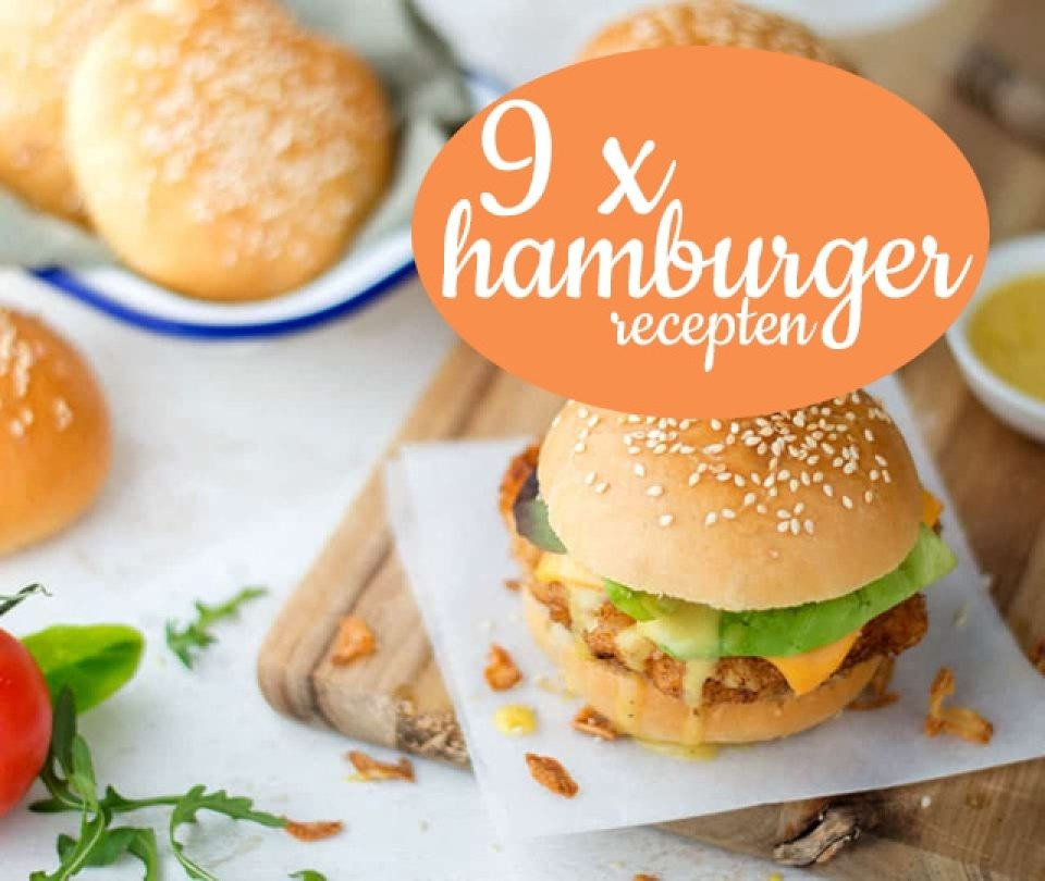 9 x hamburger recepten