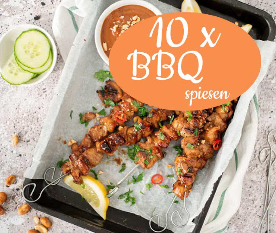 10 x BBQ spiesen (recepten)