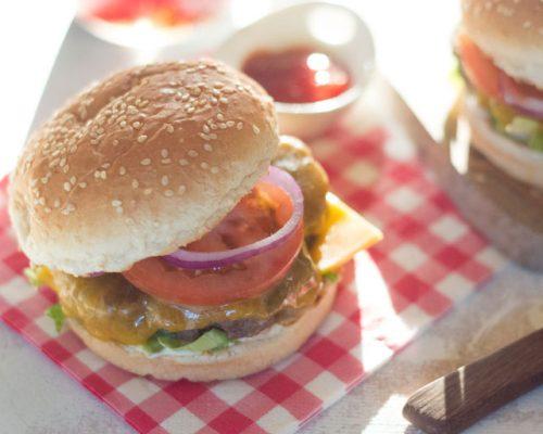 Beste hamburger recept BBQ