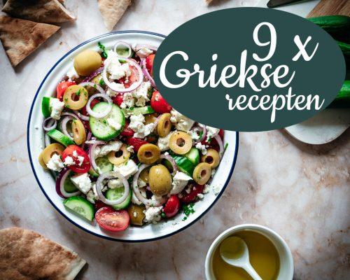 9 x Griekse recepten