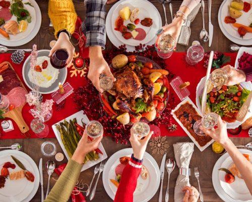 Kerstdiner - gourmetten met familie