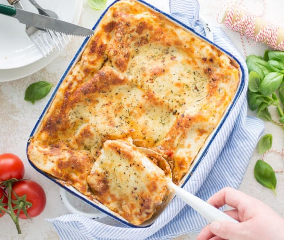 Traditionele lasagne bolognese
