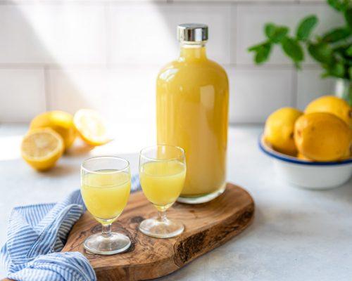 Zelf limoncello maken