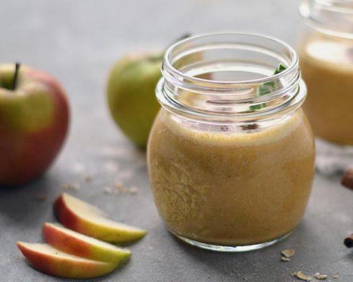 Pompoen smoothie met appel