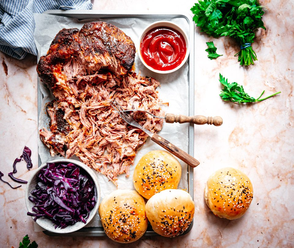 Pulled pork uit de slowcooker