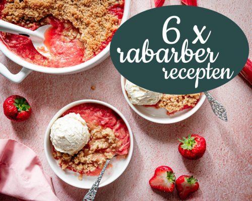 6 x rabarber recepten