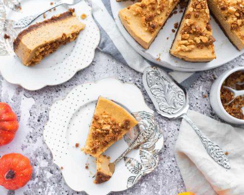 Pompoen cheesecake