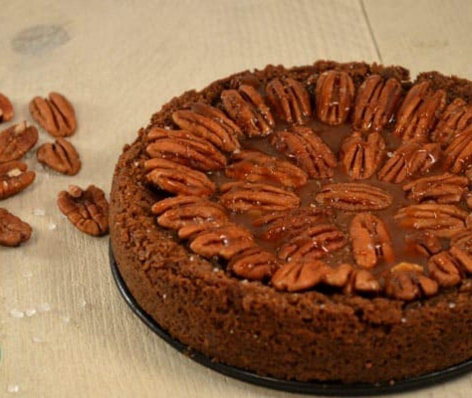 Salted Caramel Pecan Pie