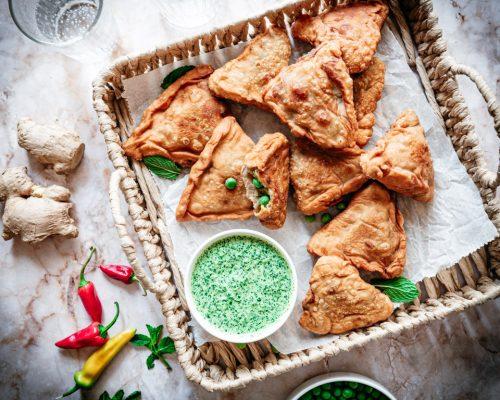 Samosa (Indiase samosa recept)
