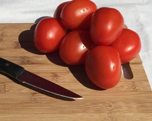 Tomaten Pellen