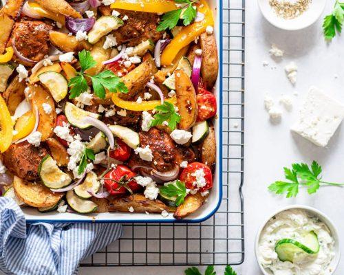 Traybake met aardappel