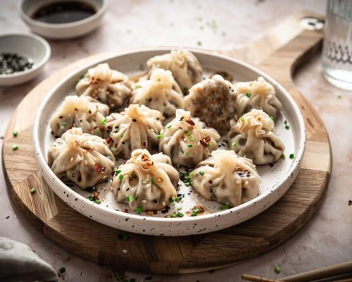 Vegetarische dumplings