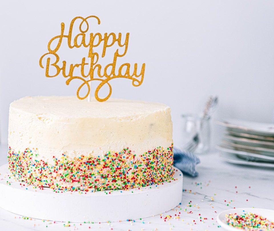 verjaardagstaart maken