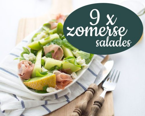 9 x zomerse salades