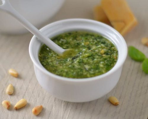 Zelf groene pesto maken