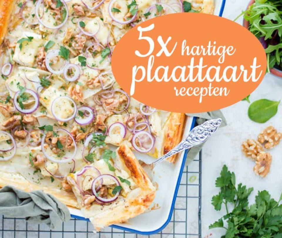 5 x plaattaart recepten
