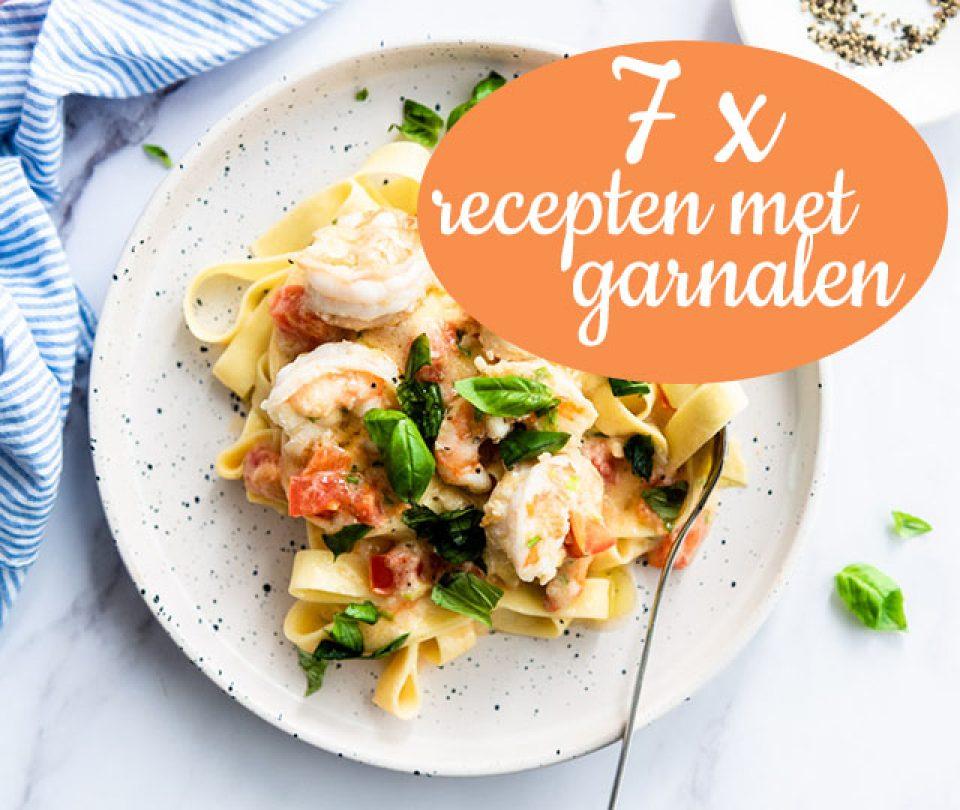 7 x recepten met garnalen