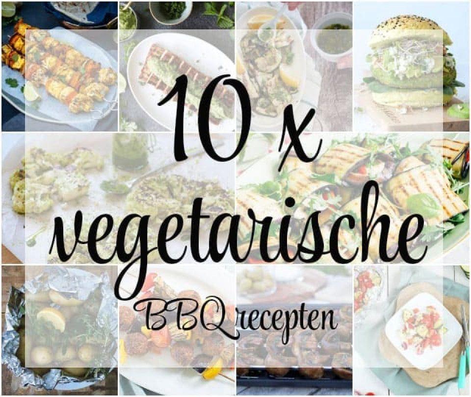 10 x vegetarische BBQ recepten